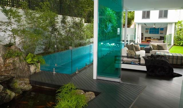 Paddington Lap Pool modern-pool