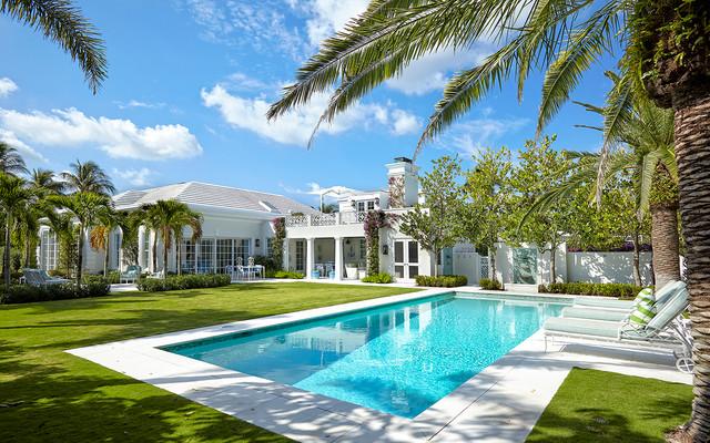 Palm beach georgian estate - Palm beach swimming pool ...