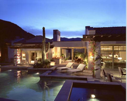 Palm Desert contemporary-pool