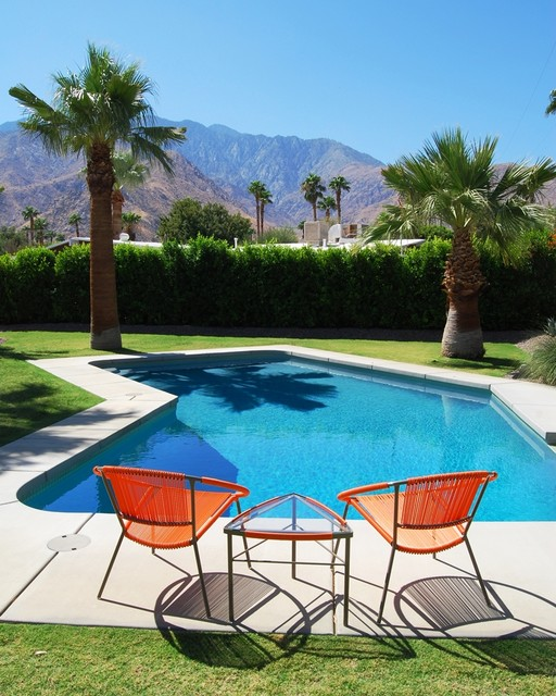 Midcentury Pool Palm Springs Mid Century Modern Mountain View
