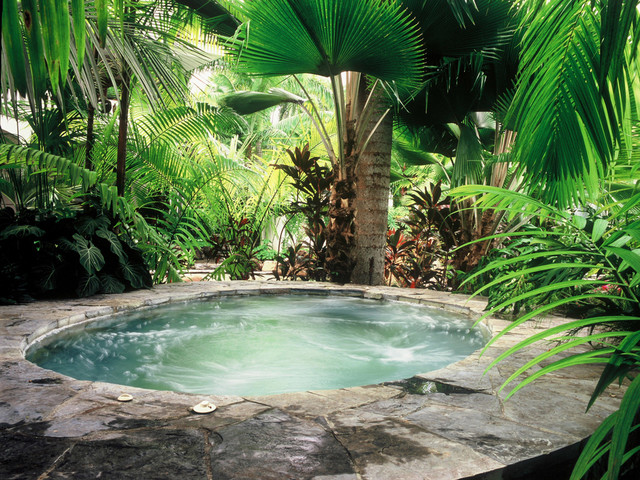 Panama garden for Garden pool from bathtub