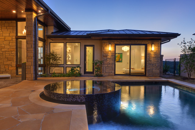 Parade of Homes, Pool contemporary-pool