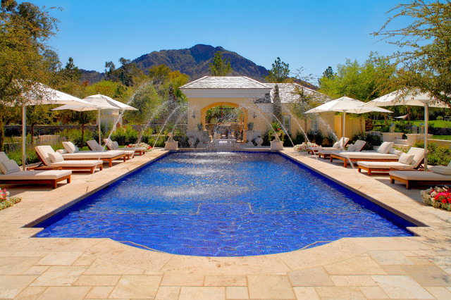 Paradise Valley Estate traditional-pool
