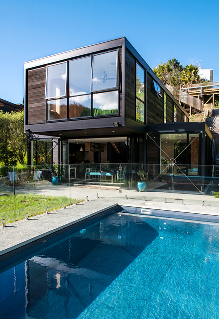 Parnell house auckland nz modern pool auckland for Pool design auckland