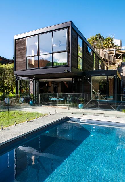Parnell house auckland nz modern pool auckland for Pool design auckland