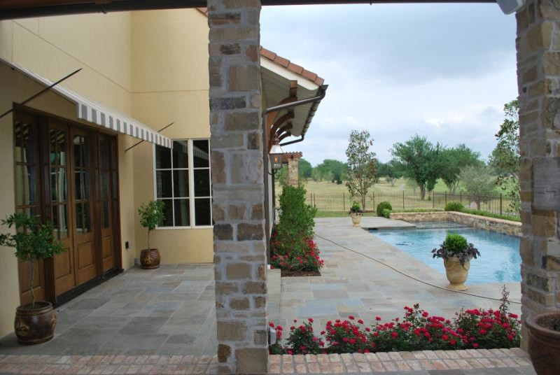Patio and Pool Feature