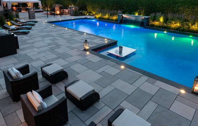 patio perfection moderne piscine montreal par techo bloc. Black Bedroom Furniture Sets. Home Design Ideas