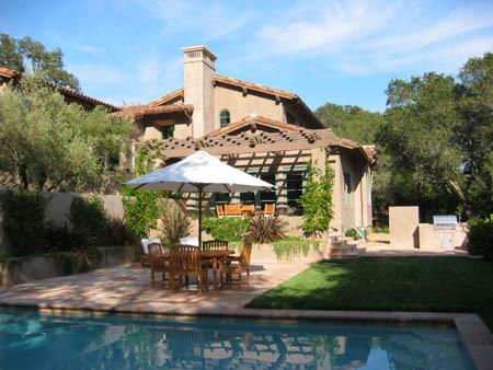 Pedersen Associates - Residential - Kentfield, CA mediterranean-pool