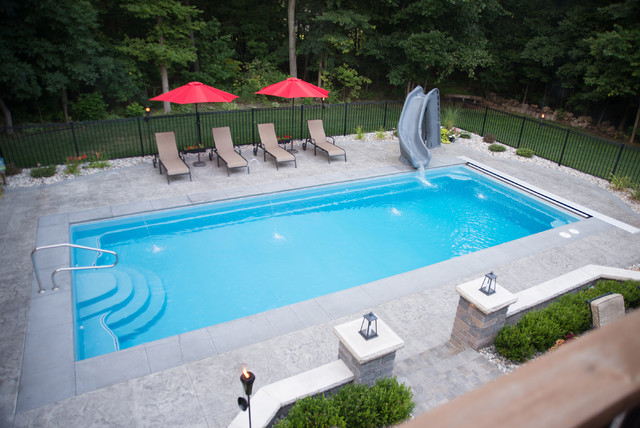 Pentwater Modern Pool Other By Leading Edge Fiberglass Pool Spa Manufacturing