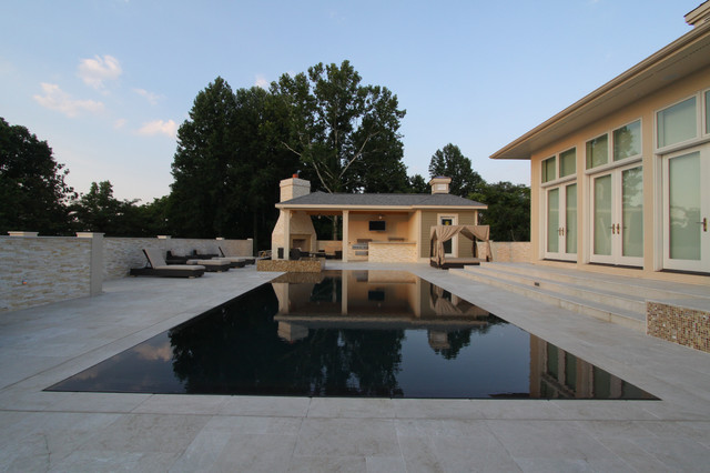 Perimeter Overflow Pool 1 - Modern - Pool - Other - by ...