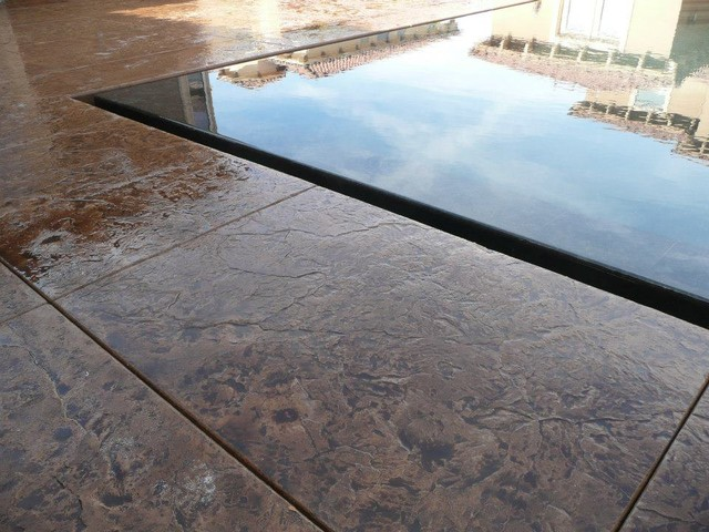 Perimeter Overflow Pool - Pool - Los Angeles - by Allstate Pools ...