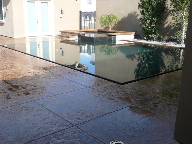 Perimeter Overflow Pool Swimming Pool Hot Tub Los Angeles By Allstate Pools Spas