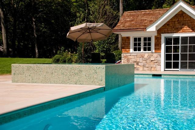 Perimeter Overflow Spa & Pool Design/Installation Bergen ...