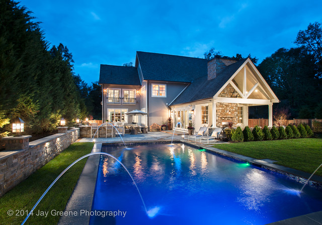 Philadelphia magazine design home 2014 traditional for Pool design magazine