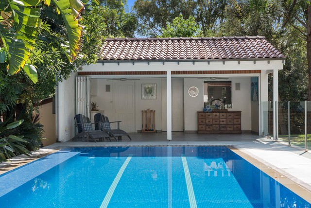 Pittwater Residence traditional-pool