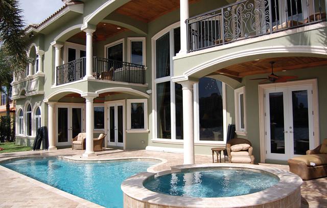 Plan #106S-0059 traditional-pool