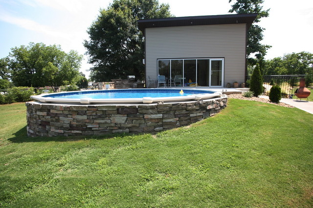 Plan C Modern Pool Charlotte By Nill Silver Photography