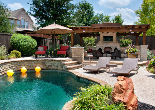 Plano, Tx, Collin County Residential Project - Traditional - Pool