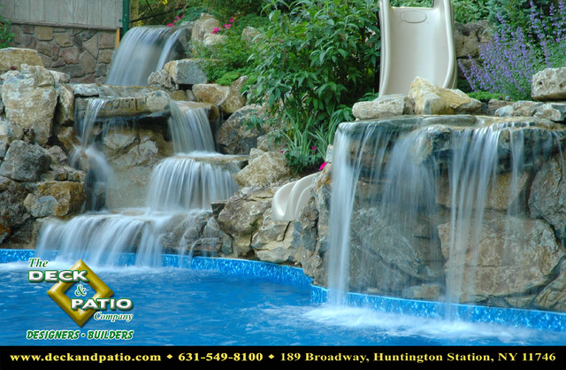 Ponds waterfalls water features water gardens traditional-pool