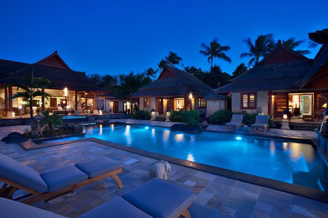 Makena residence asian pool hawaii by for Pool design hawaii