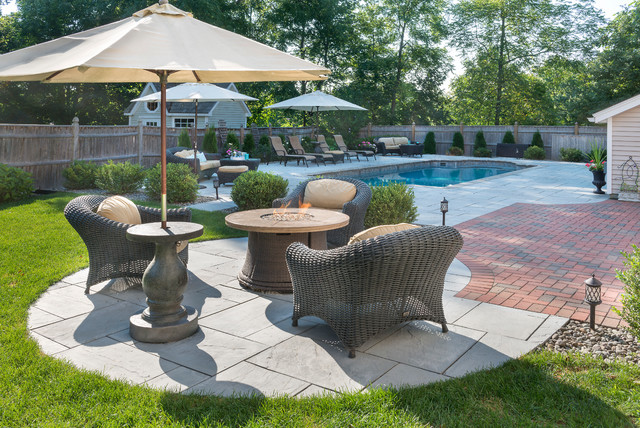 Pool Patio Design Exeter Nh Pool Boston By Mandeville Canyon Designs