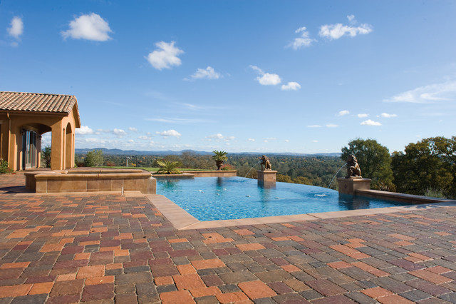 Pool and Patio Pavers by Basalite traditional-pool