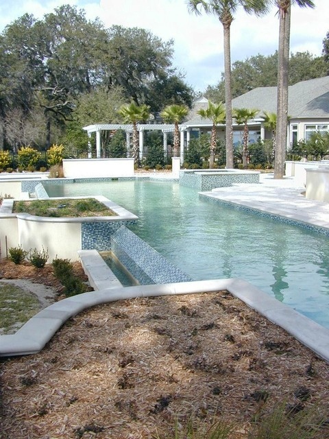 Inspiration for a pool remodel in Jacksonville