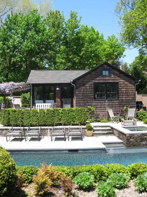 Pool & Poolhouse contemporary-pool