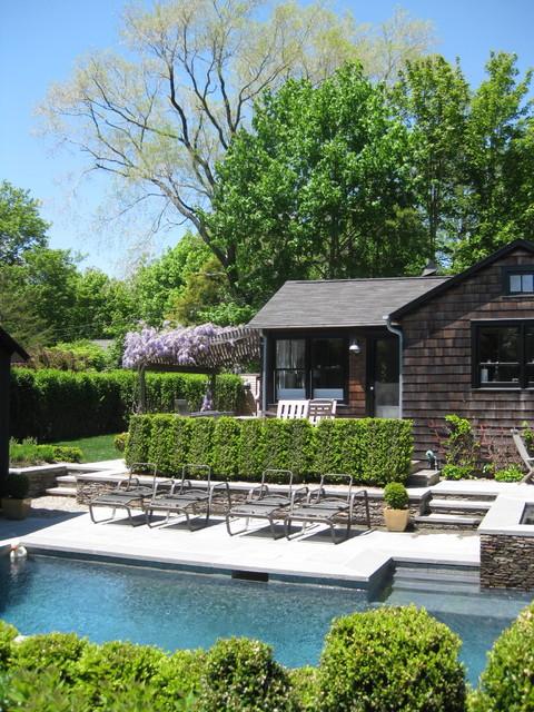 Pool & Poolhouse traditional-pool