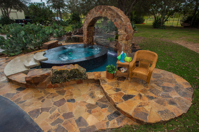 Pool And Spa Combos American Southwest Pool Houston