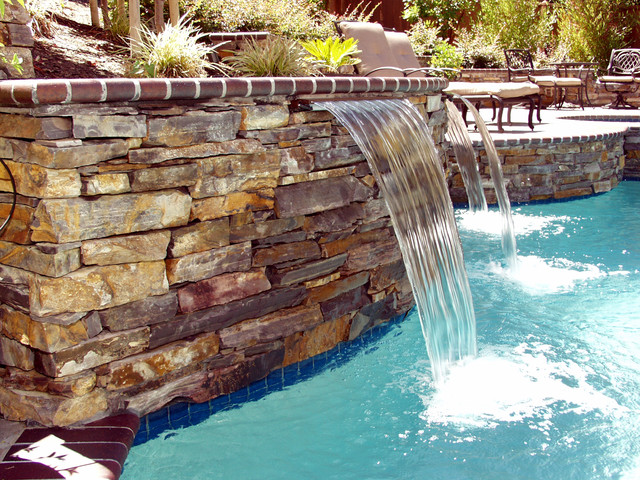 Pool and Spa eclectic-pool