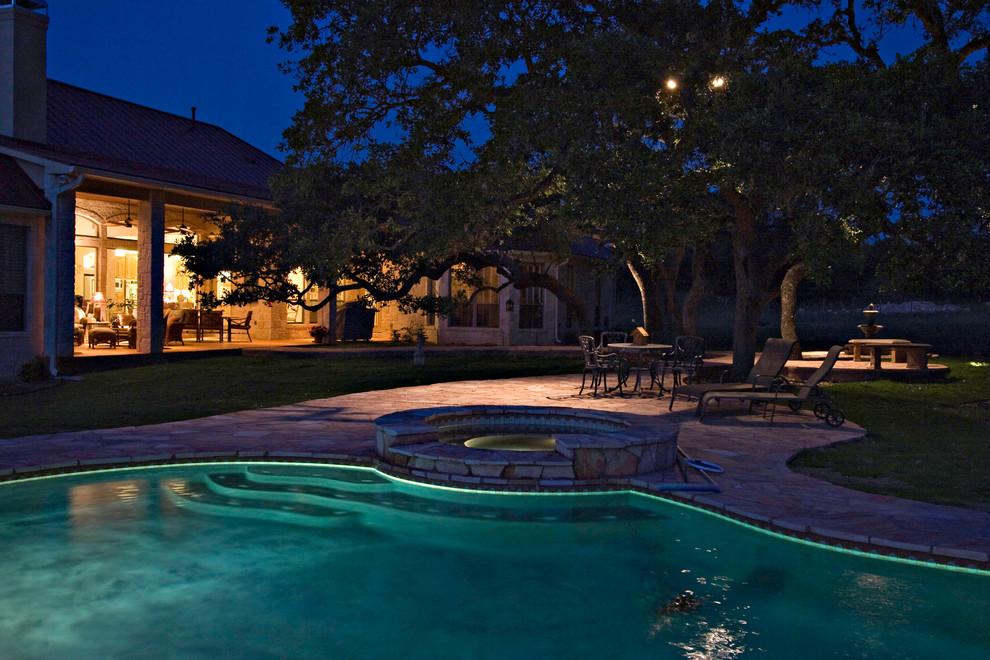 Pool Area Lighting
