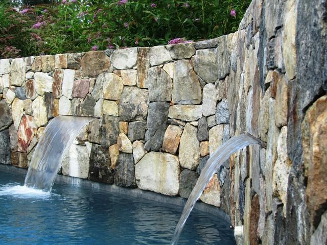 Pool Area renovation farmhouse-pool