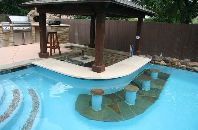 Pool Bar Amp Poolside Outdoor Kitchen Contempor 225 Neo