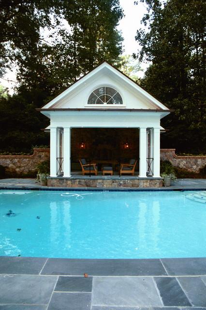 pool cabana traditional-pool