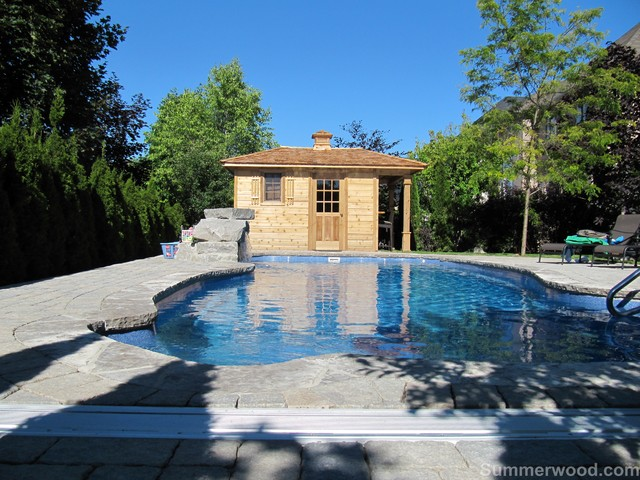 Pool Cabanas Modern Pool Toronto By Summerwood