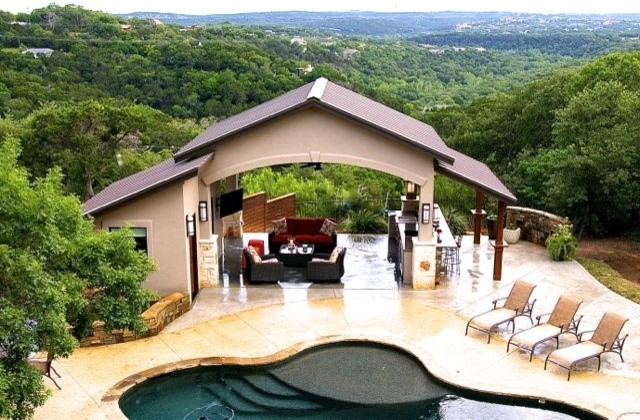 Pool Casita With Hill Country View