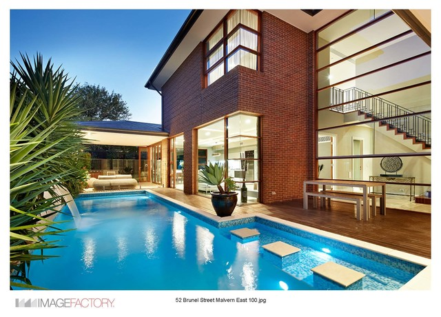 Pool copers contemporary pool newcastle maitland for Pool design newcastle