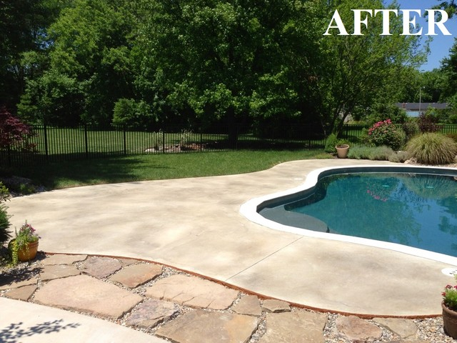 Pool Deck Finishes