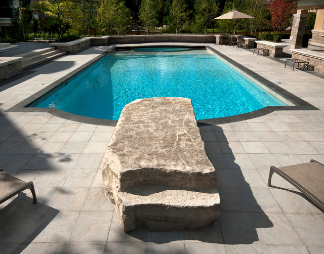 Pool design elegant contemporary pool toronto by for Pool design questions
