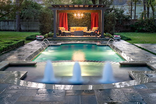 Pool designer houston - Contemporary - Pool - Houston - by Exterior ...
