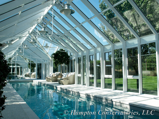 Pool Enclosure Traditional Pool New York By Hampton Conservatories Llc