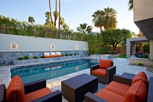 POOL HOME REMODEL IN PALM SPRINGS CALIFORNIA Contemporary Pool