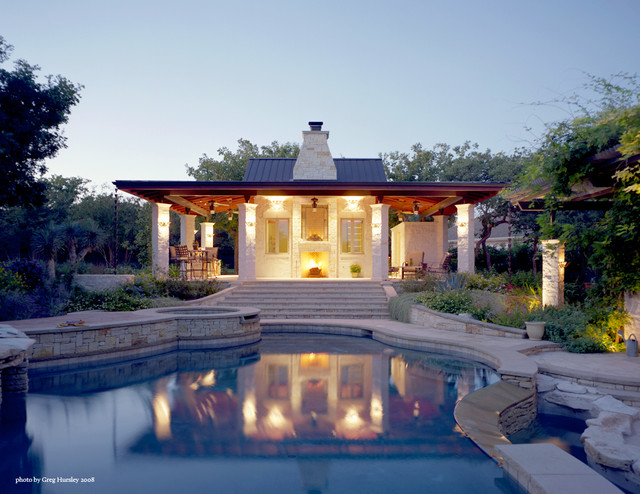 Pool House contemporary-pool