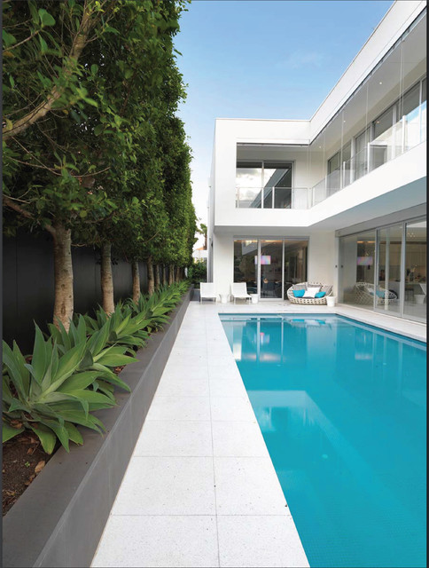 pool house moderne piscine melbourne par david edelman architects. Black Bedroom Furniture Sets. Home Design Ideas