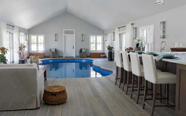 pool house interior. Pool House Beach-style-pool Interior N
