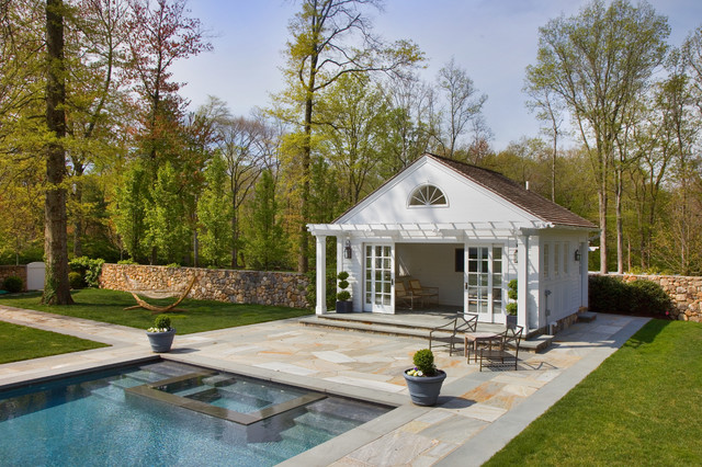 Pool house traditional pool other by sean o 39 kane for Pool design questions