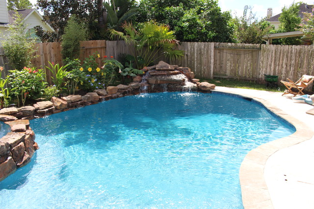 pool in pearland tx rustic pool houston by splash On pearland swimming pool