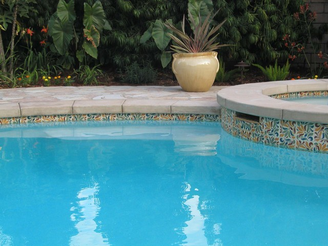 Pool kj patterson mediterranean pool los angeles for Pool design los angeles