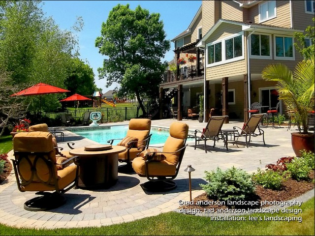 Pool patio outdoor living space minnesota pool design for Pool design mn